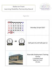 April 2017 Agenda Preview