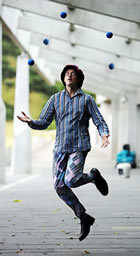 Joggling is Juggling while Running/Jogging!