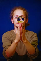 Ewan Colsell demonstrating Contact Juggling